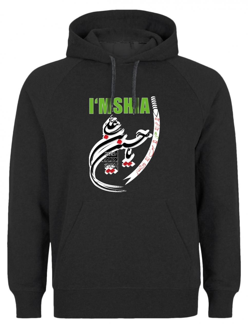 I am Shia Ya Hussein Zulfikar Hoodie Shia Schia Ashura Muharram