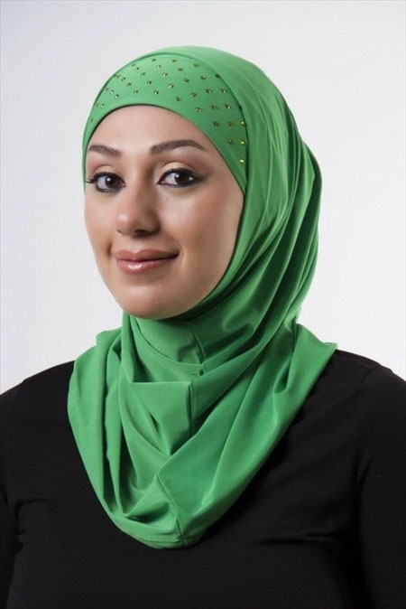Persiches Kopftuch - Maqanaa - مقنعة - verschiedene Farben