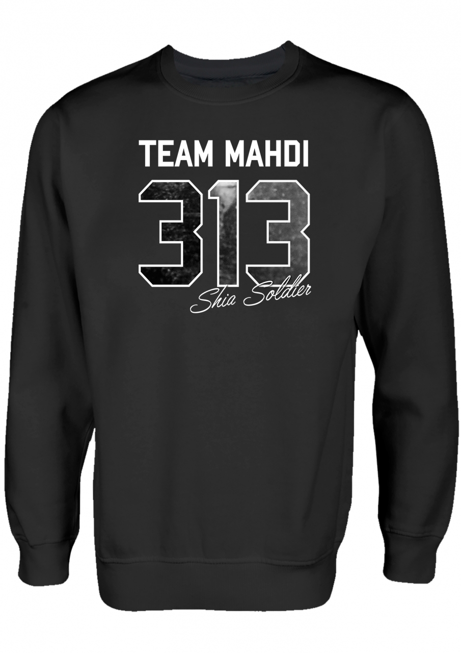 Team Mahdi 313 Sshia Soldier Ashura Clothing Islamische Kleidung Pullover