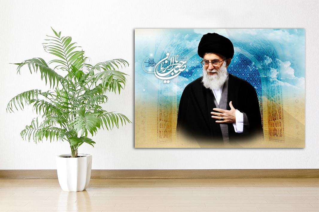 Ya Sahib Alzaman - Imam Khamenei Islamische Leinwandbilder Fotoleinwand