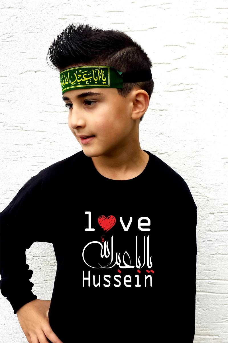 Ashura Muharram Kinder Kleidung Langarm T-Shirt Love Imam Hussein