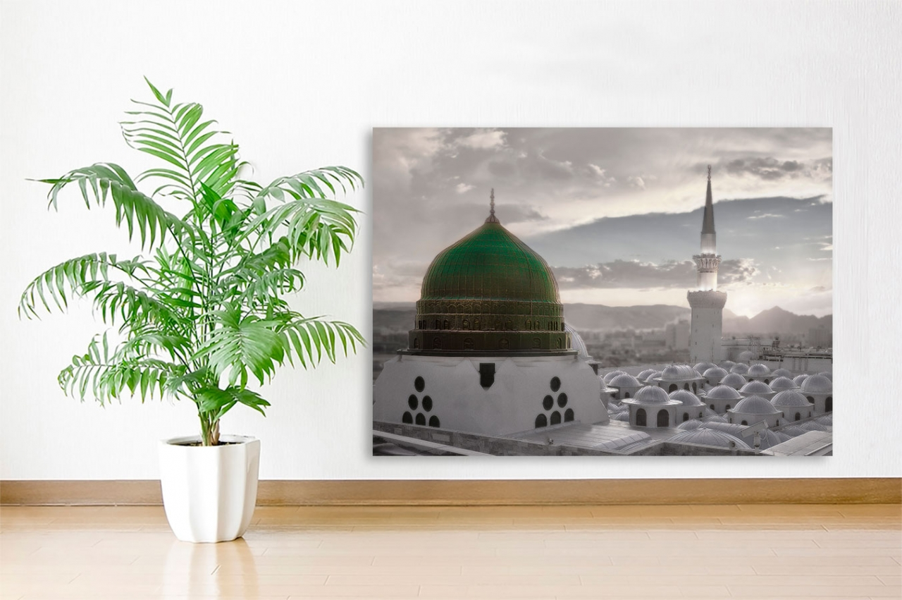 Madina Grabstätte des Propheten Islamische Leinwandbilder Fotoleinwand