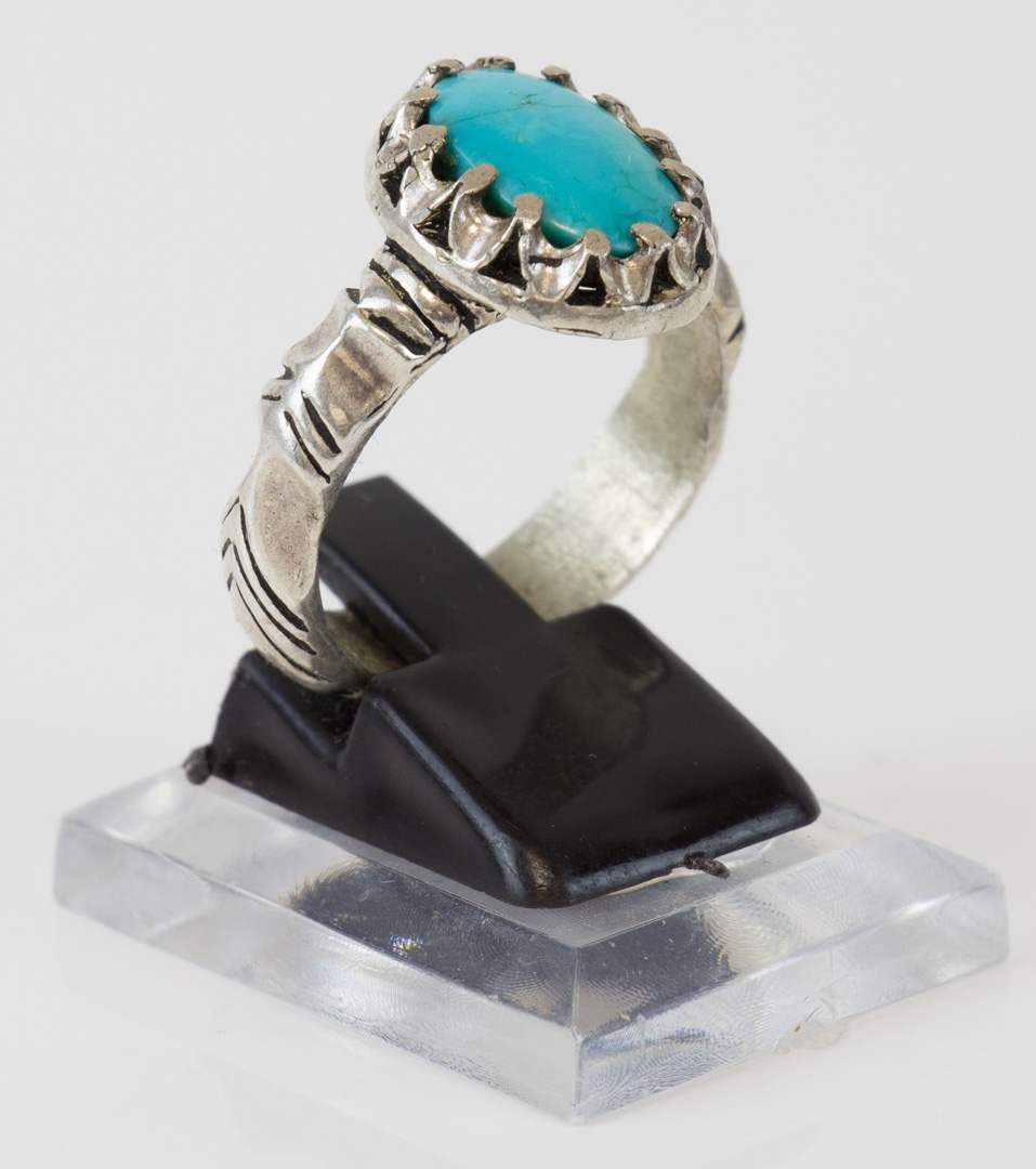 Fairuza Nishaburi Silberring größe 65 - Hoher Reinheitsgrad