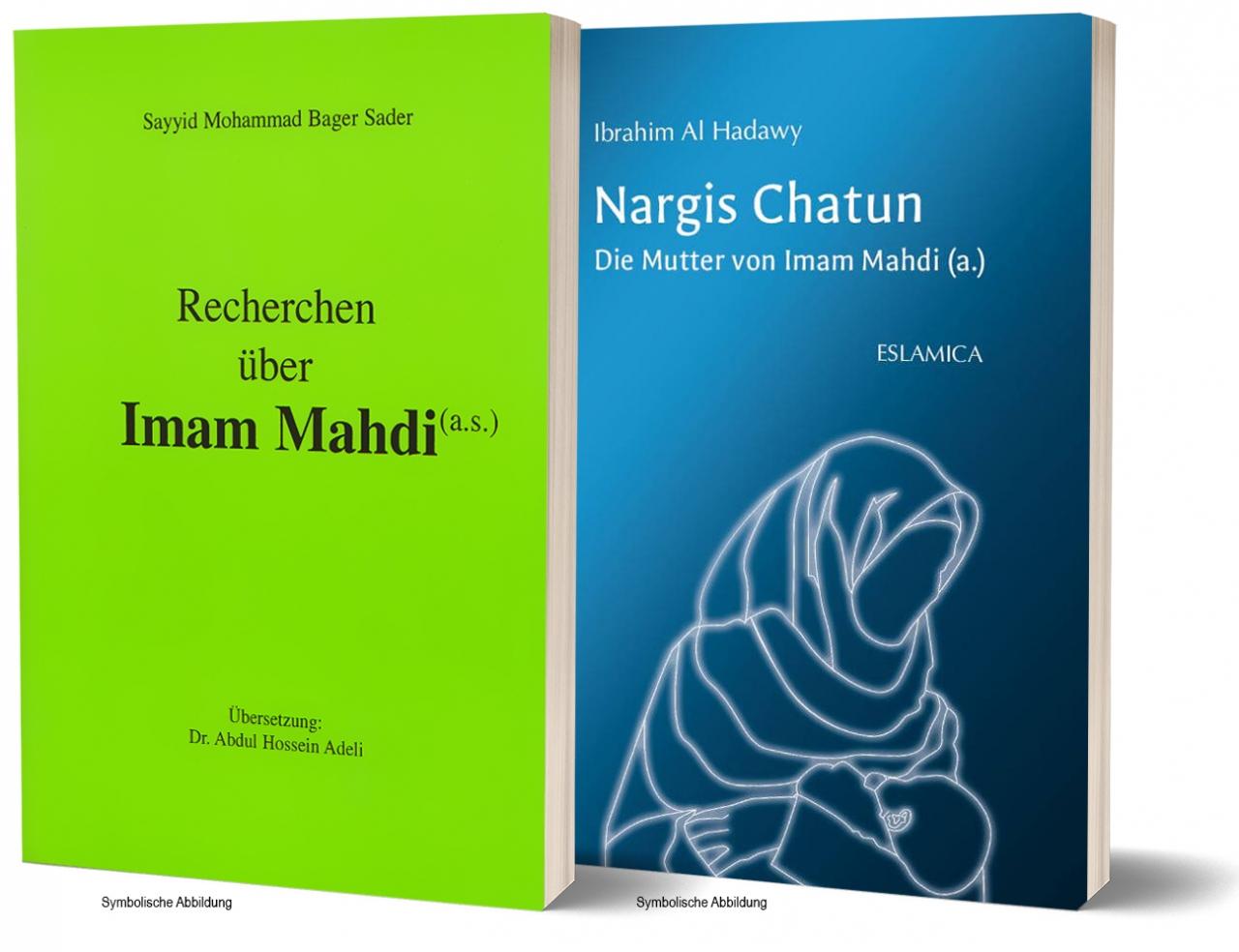 Bundel: Recherchen über Imam Mahdi + Die Mutter von Imam Mahdi (Nargis Khatun)