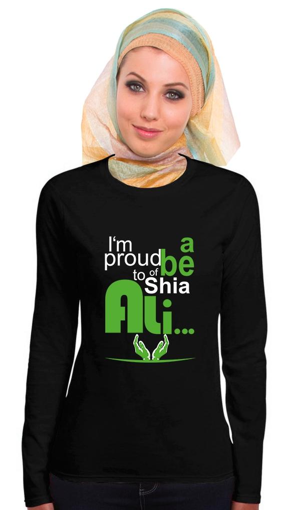 I am proud to be a Shia of Ali Damen Langarm T-Shirt