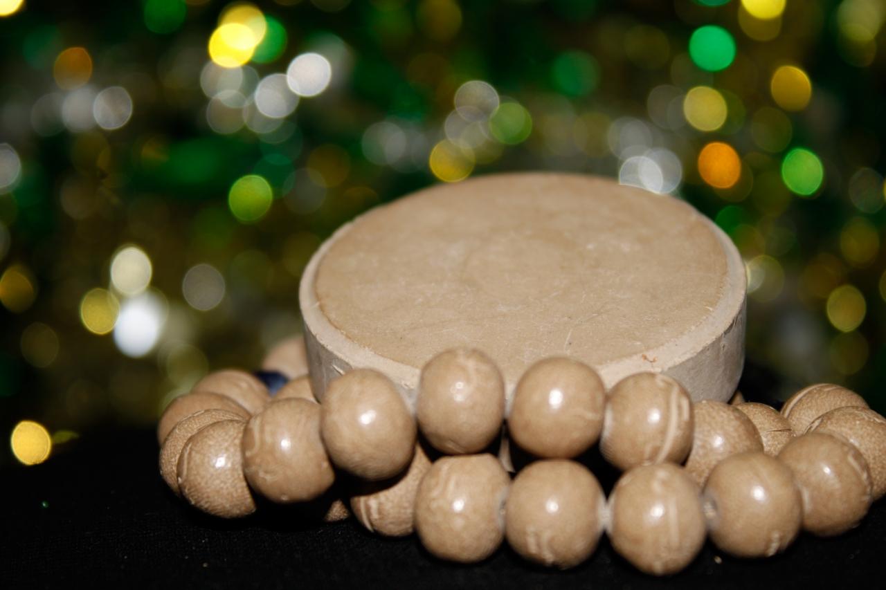 Gebetskette Tasbih aus Karbalahs Erde