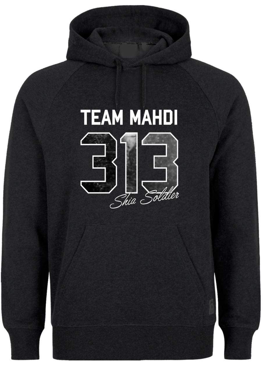 Team Mahdi Shia Soldier 313 Hoodie - Shia Ashura Muharram
