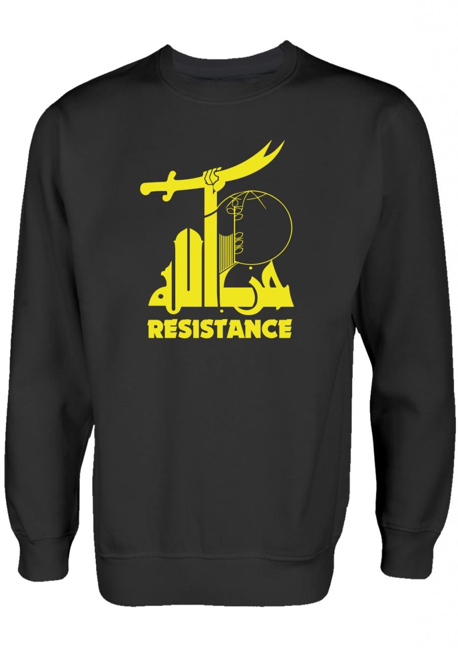 Widerstand gegen den Terror Resistance Pullover Schwarz