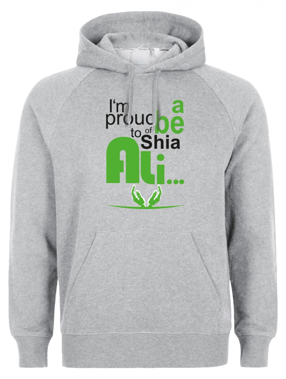 I am proud to be a shia of Ali Shia Herren Hoodie