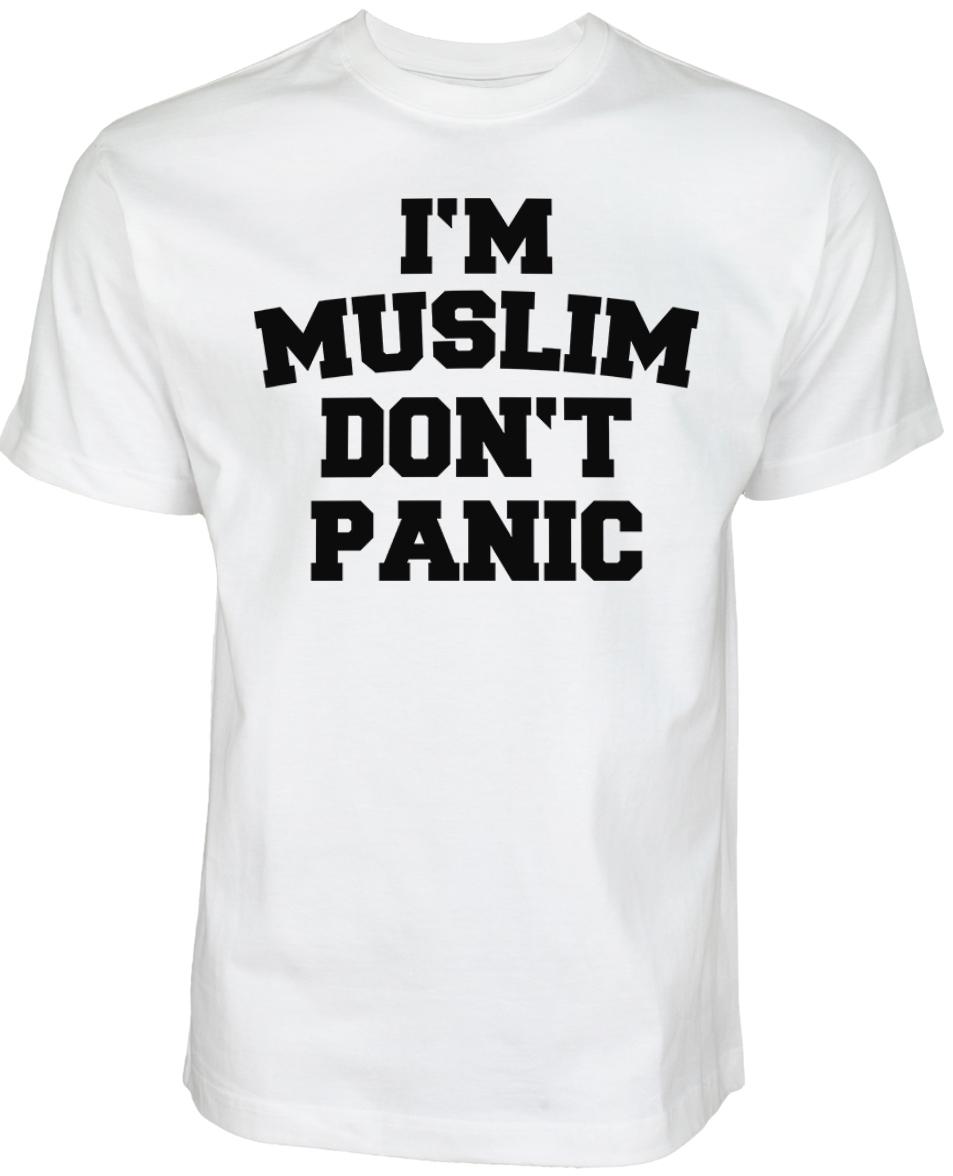 Islamische Kleidung Muslim Streetwear Halal-Wear I'M Muslim DONT Panic