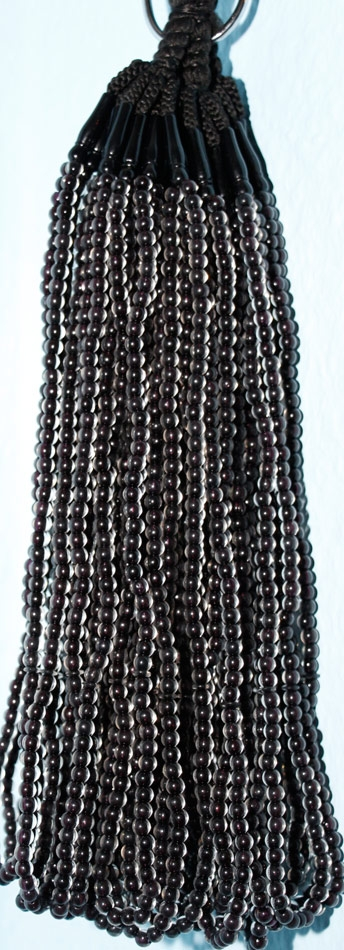 Gebetsketten Tasbih - durchsichtig 99 Steine-