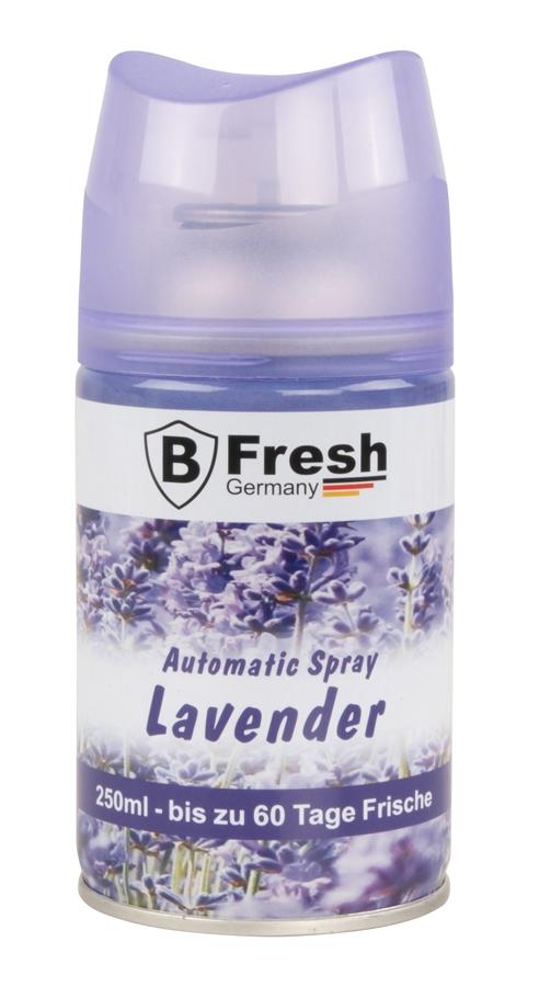 Lavendel Luftfrischer für Automatische Duftspender -250ml nachfüllflasche raumduft nachfüllen Vorr