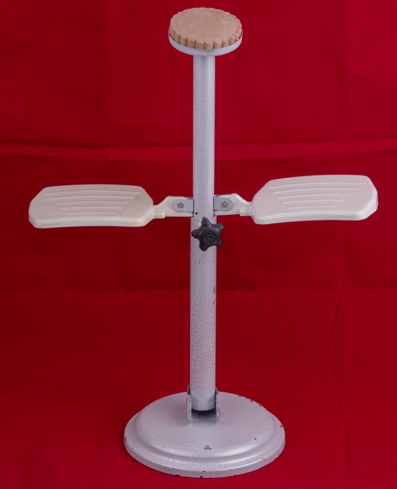 Sujudhilfe für ältere Menschen (Sujud-Ständer) inkl. Gebetsstein Höhenverstellbar bis 50 cm Beige
