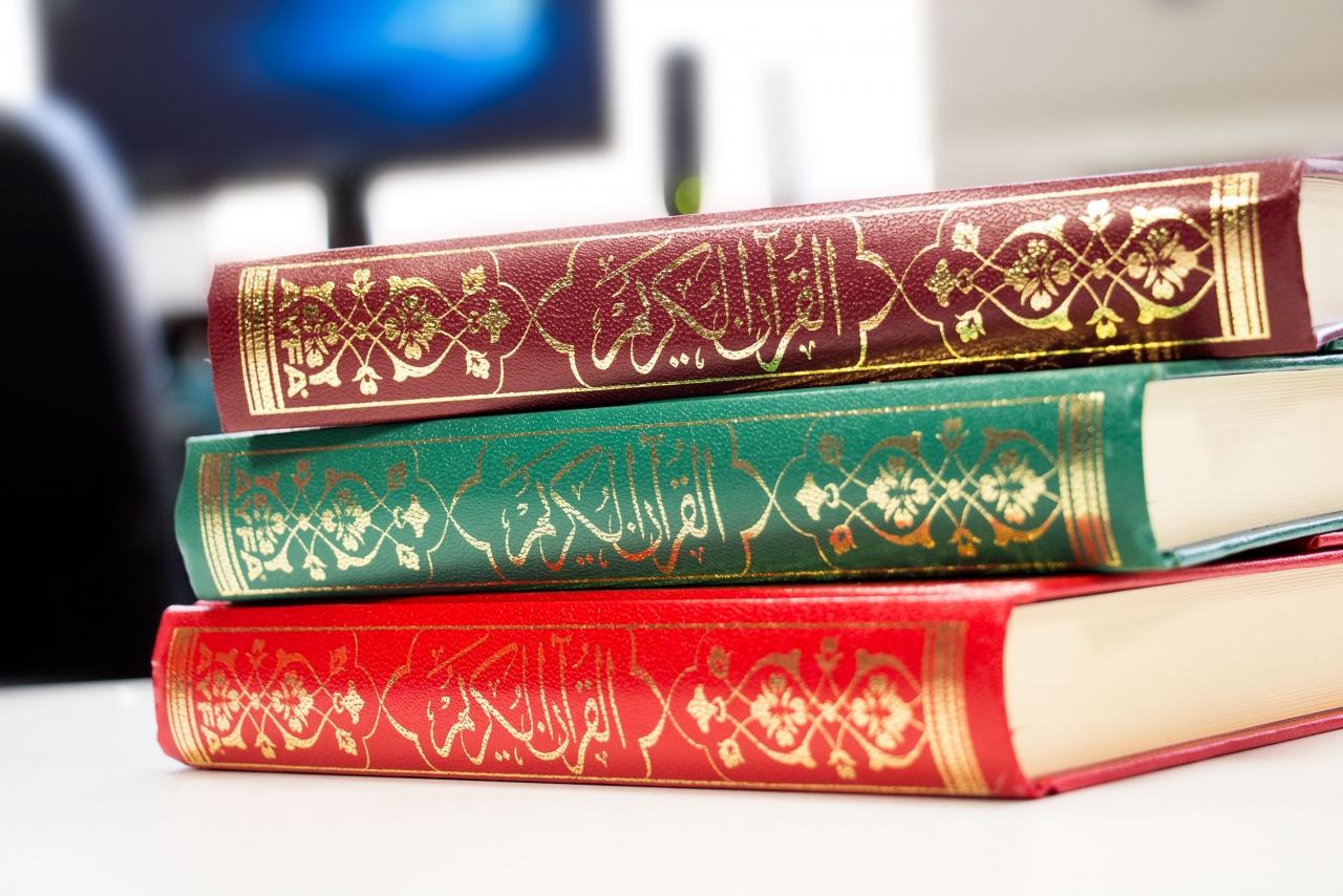 Kompletter Koran als Midigröße Hardcover in 3 Farben