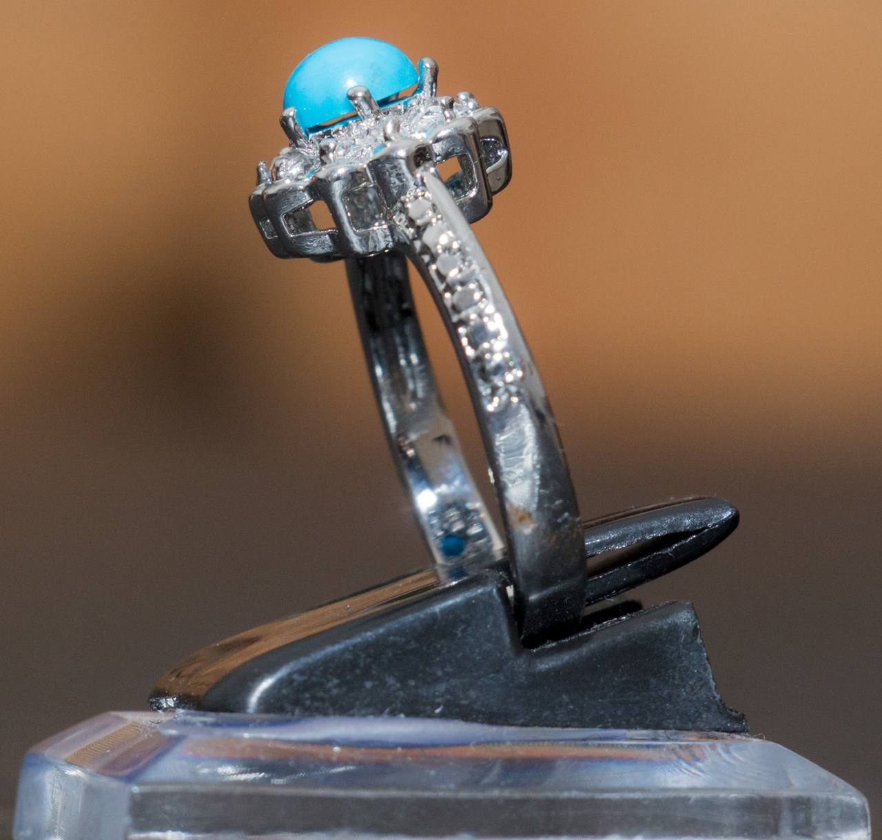 Damen Ring - Fairuza versilbert in verschiedene Größen