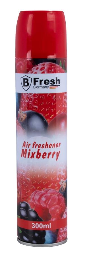 Mixberry Lufterfrischer Raumspray 300ml Sprayflasche Raum Duftspray Raumspray