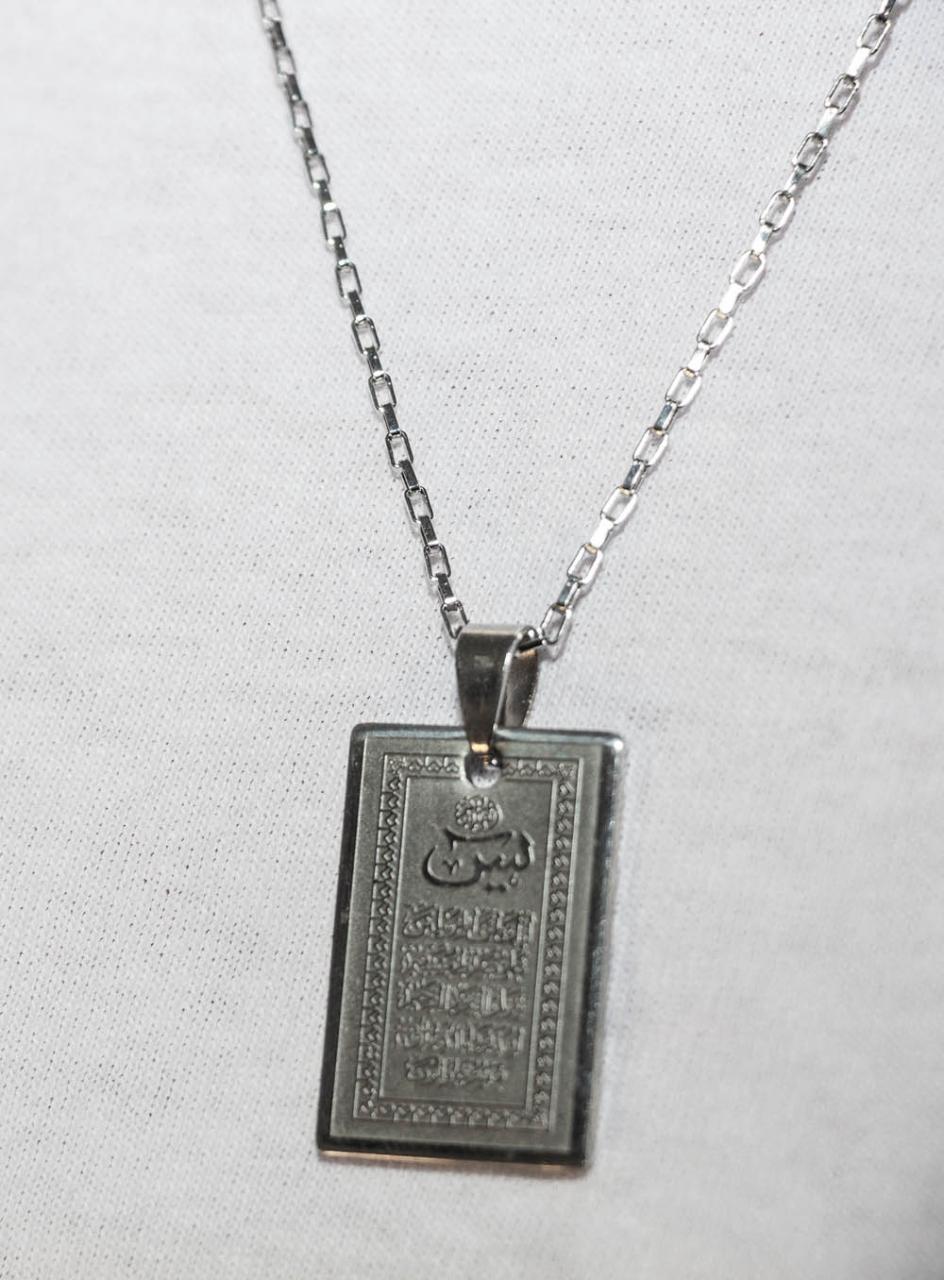 Sure Yasin - Koran Halskette - Edelstahl Rostfrei Schutzkette
