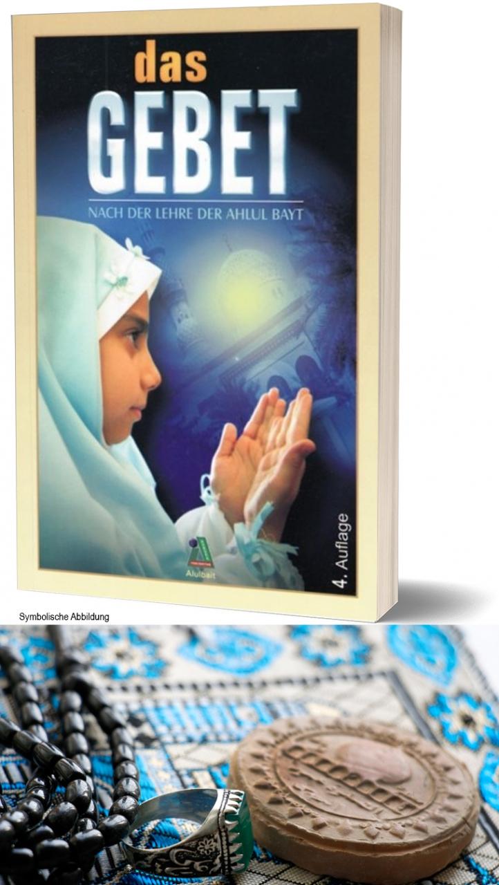Bundel Das Gebet Nach der Lehre der Ahlul Bayt + mini Gebetsteppich + Turba + Gebetskette