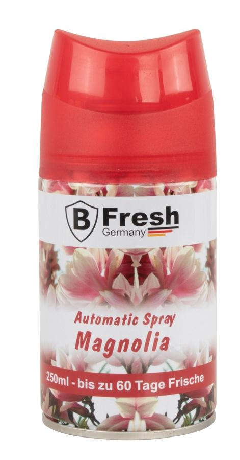 Magnolia Luftfrischer für Automatische Duftspender -250ml nachfüllflasche raumduft nachfüllen Vorr-