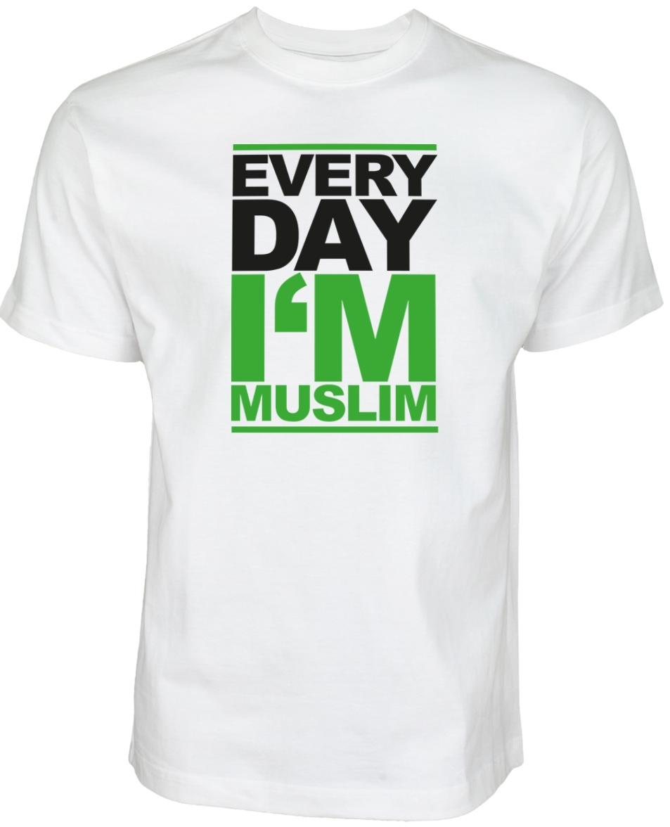 Islamische Kleidung Muslim Streetwear Halal-Wear Every Day I am Muslim