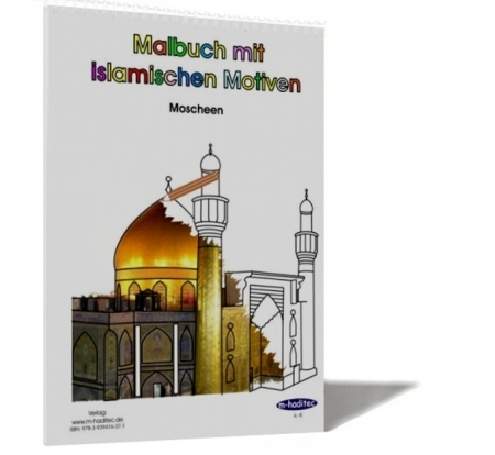 Malbuch 1 mit islamischen Motiven - Moscheen