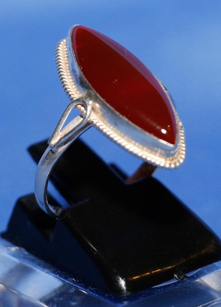 Aqiq Khorasani Silberring für Frauen Ringgröße 52 Silber