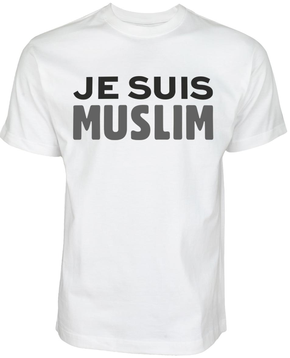 Islamische Kleidung Muslim Streetwear Halal-Wear Je Suis Muslim