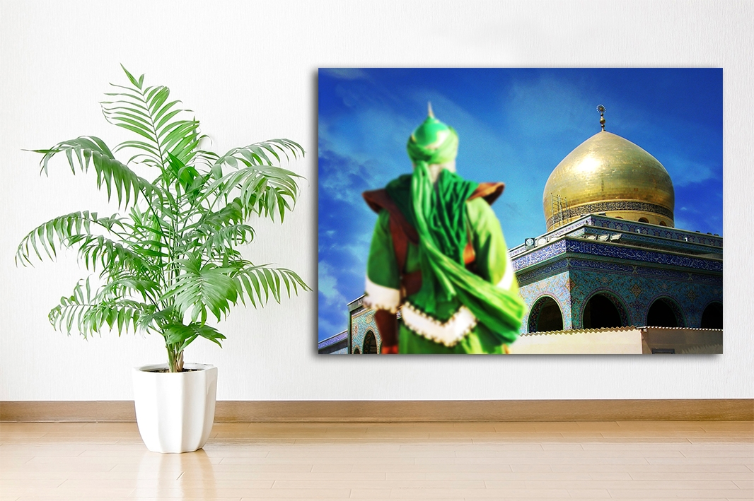 Masjid Alaqsa Imam Mahdi Islamische Leinwandbilder Fotoleinwand